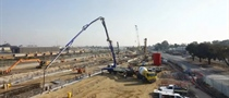Construction of the Forrestfield dive structure