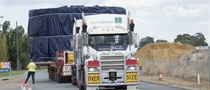 Our first tunnel boring machine arrives in Perth