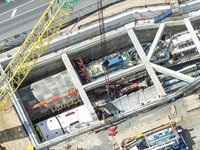 TBM Sandy starts tunnelling at Forrestfield