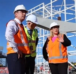Skybridge construction takes to the skies in latest milestone