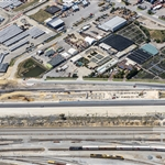 Aerial view of southern end of Forrestfield site - October 2018