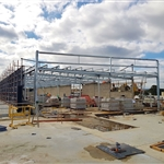 Brickwork at Forrestfield Station - July 2019
