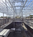 Redcliffe Station roof frame construction - September 2020